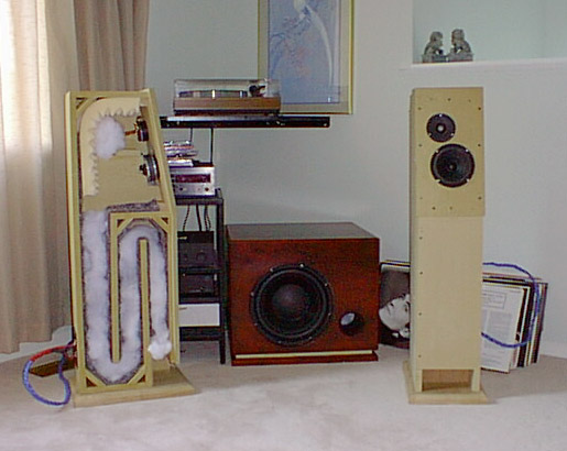 Transmission Line Speakers